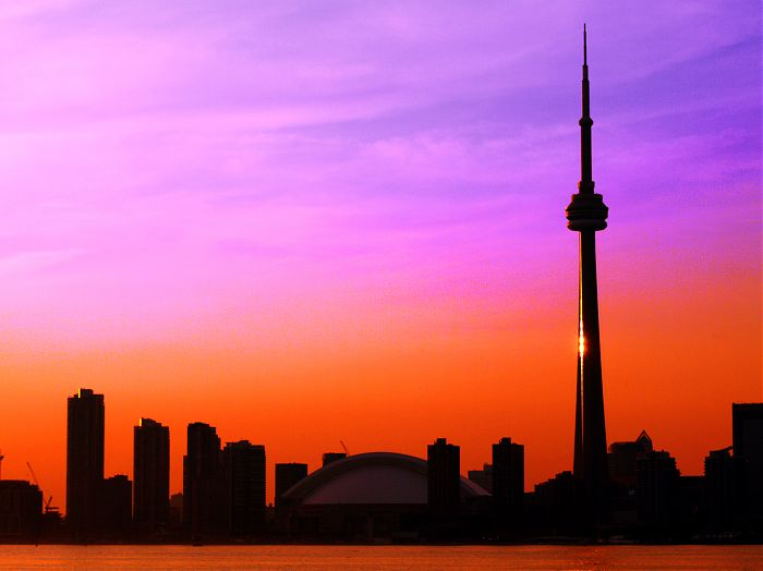 photoblog image Another Toronto Skyline Sunset