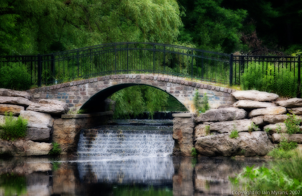 photoblog image Impressionistic Bridge