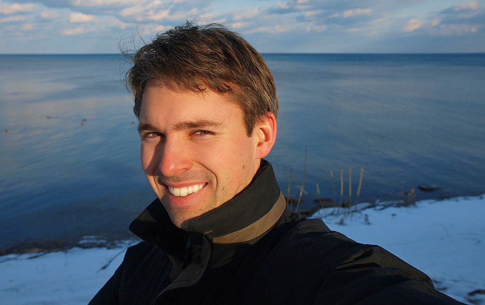 photoblog image Portraits Time: Photo 5 - On the Shore of Lake Ontario