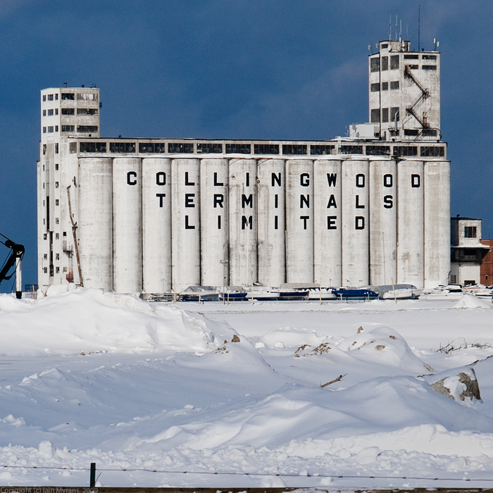photoblog image The Old Grain Elevators