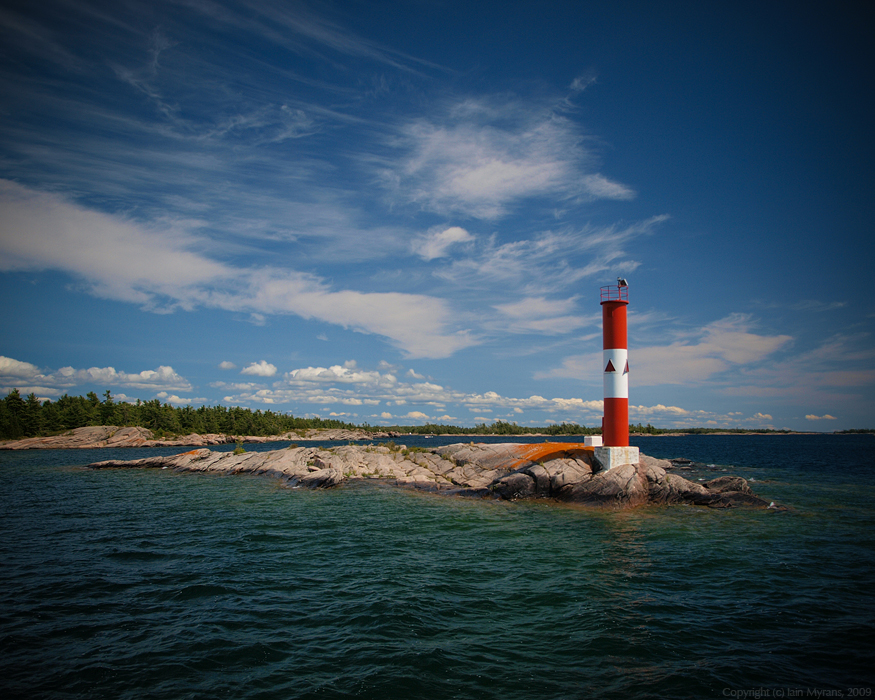 photoblog image O'Donnel Point Light