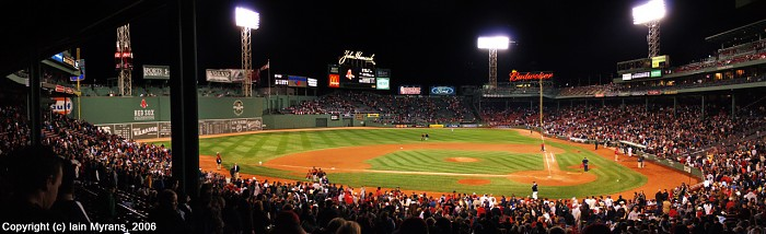 photoblog image Fenway Park, Boston