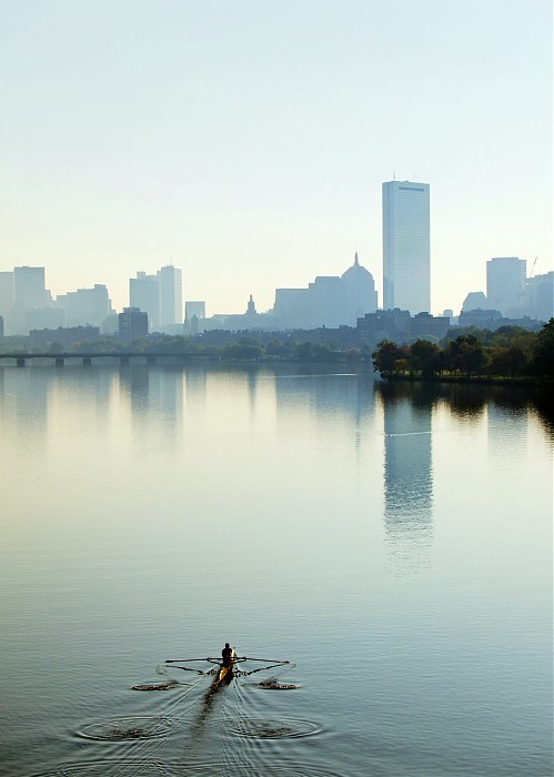photoblog image A Morning Rower