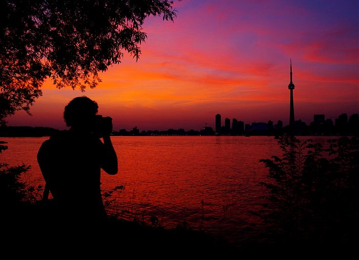 photoblog image A Photographer's Sunset