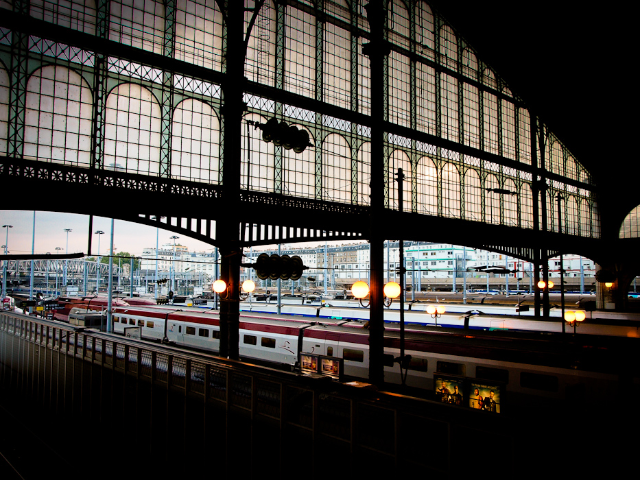 photoblog image Sunrise at the station