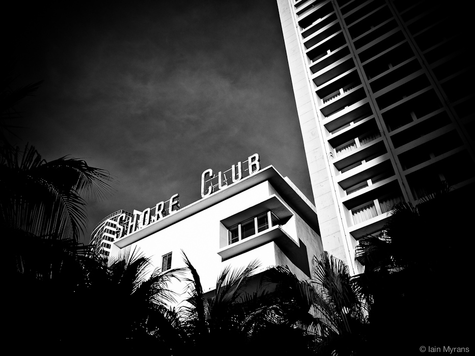 photoblog image Shore Club Sign