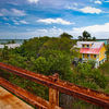 Pigeon Key from the Historic Overseas Railway Bridge.