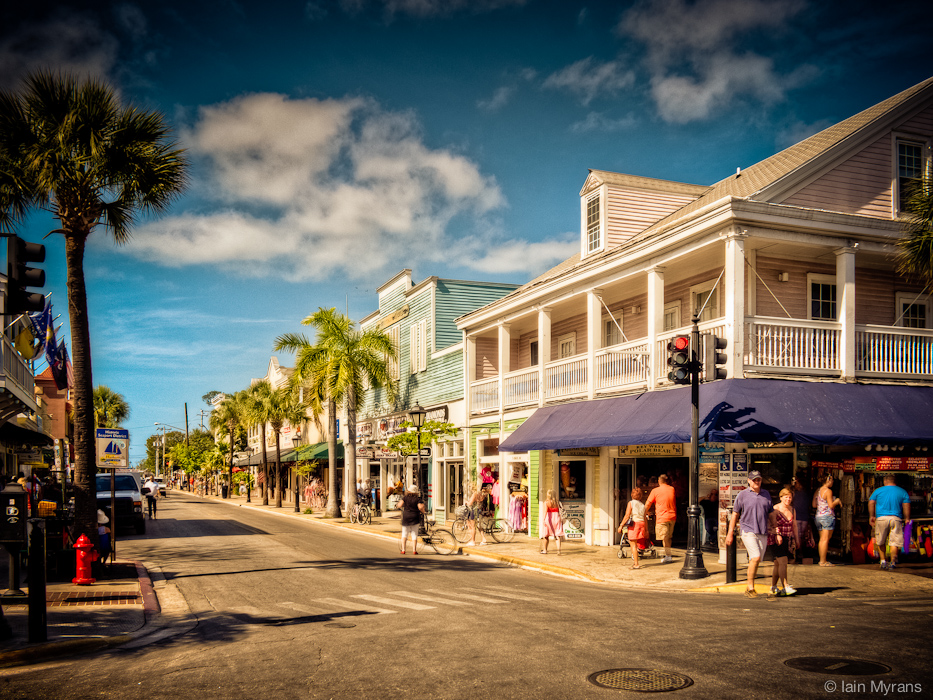 photoblog image Downtown Key West, Florida