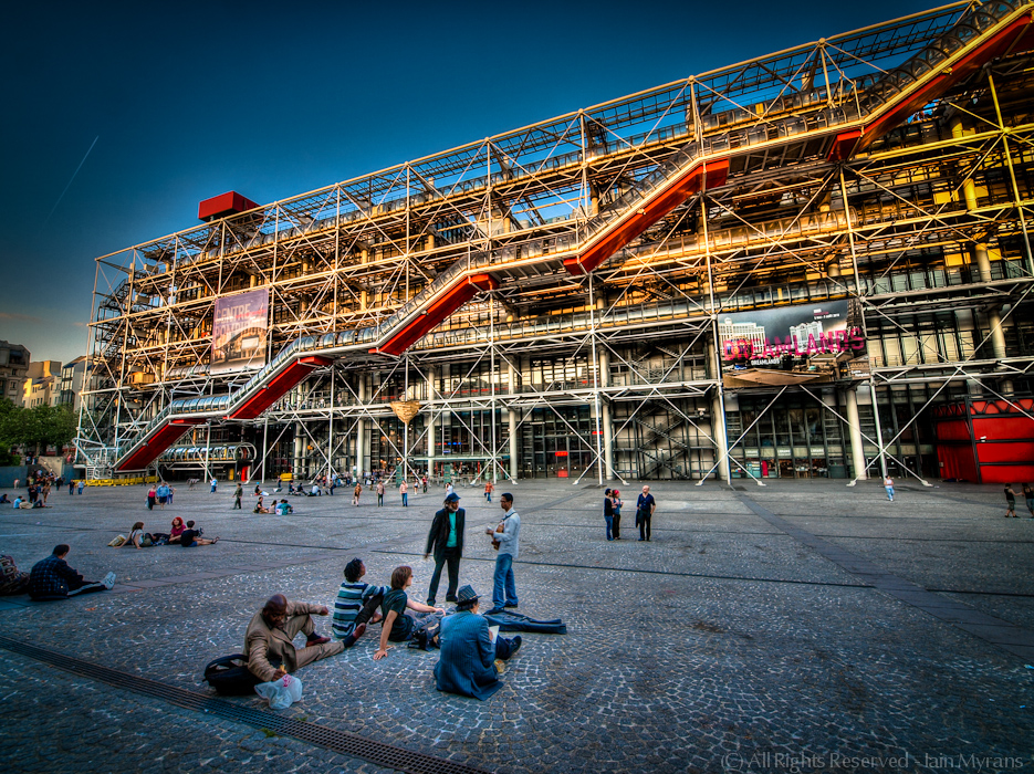photoblog image An Evening at the Centre Pompidou