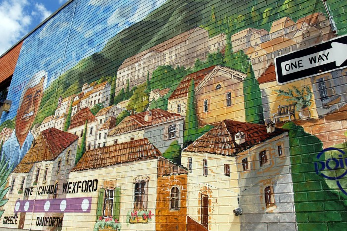 photoblog image Mural of Wexford