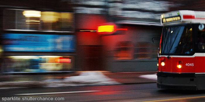 photoblog image Motion on King Street